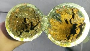 Tipinis karšto vandens vamzdis Pilaitės mikrorajone