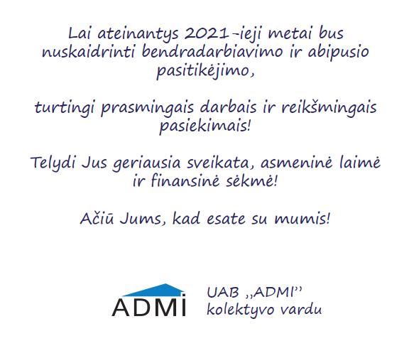 ADMI tekstas